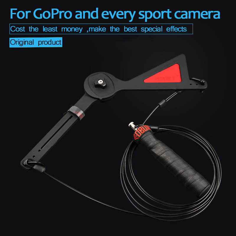100% Quality For Gopro Centriphone Bullet Time Effect Camera Rig Selfie 360 Degree For Gopro Hero 7 6 5 4 Eken Yi Sjam Sport Action Camera Removing Obstruction