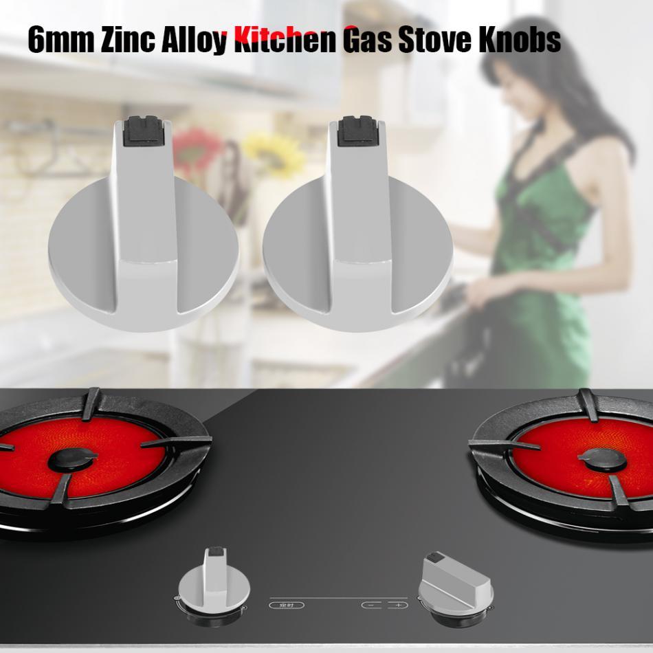 2 Teile/satz Herd Knöpfe Zink legierung Home Küche Gasherd Knöpfe ...