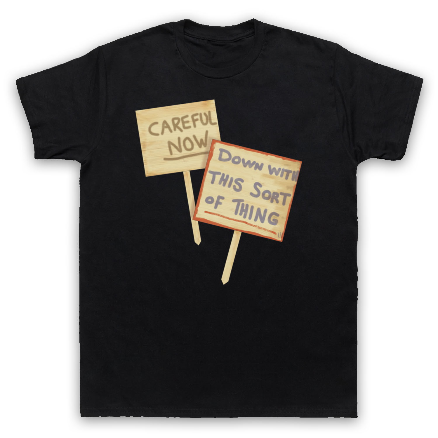 Mens T Shirt Father Ted Down With This Sort Of Thing Careful Now T Shirt