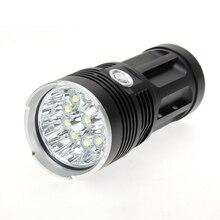 28000LM SKYRAY 11 x CREE XM-L T6 LED Hunting Flashlight Aluminum Alloy Case 4 x 18650 Torch Lamp Super Bright Flashlight