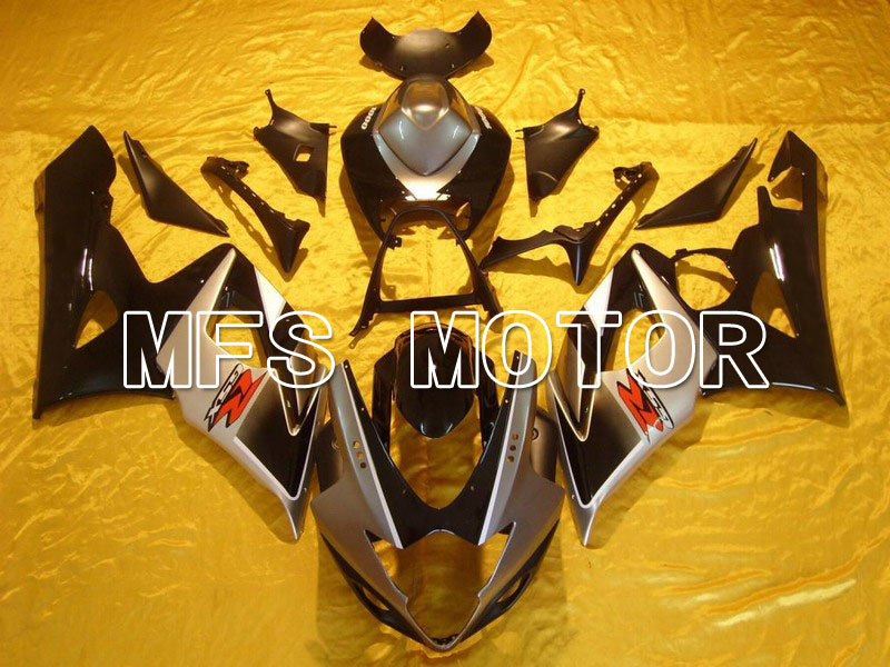 Горячая для Suzuki GSXR 1000 К5 2005 2006 АБС впрыска Обтекателя комплекты GSXR1000 К5 05 06 - другие - черный/серебристый