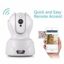 SANNCE 720P WiFi Camera Security IP Camera 1.0MP Wireless WI-FI Audio home Surveillance Baby Monitor HD Mini CCTV Camera
