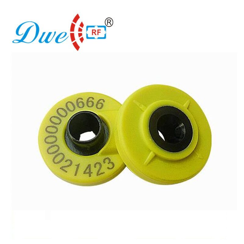 DWE CC RF 100pcs Per Lot 11784 11785 EM4305 Chip 134.2khz Fdx-b Rfid Tags Animal Tracking For Pig Sheep Pig Goat Cattle