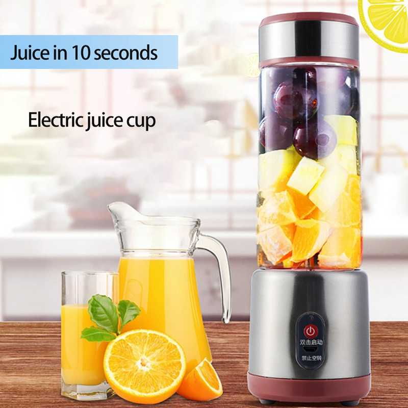 500 ml portátil multic juice maker garrafa copo elétrico usb recarregável liquidificador