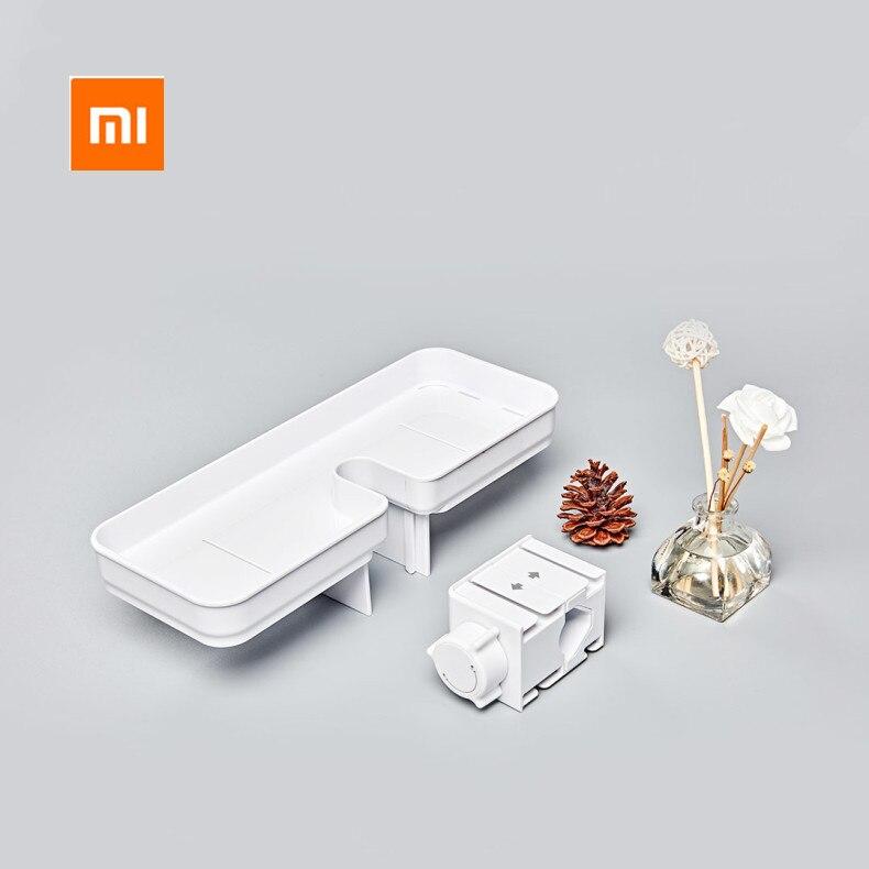 Image 5 - Xiaomi Mijia Dabai المحمولة الاستحمام الحمام تخزين الرف منشفة رف معلق شنقا تخزين الرف DIY منظمة مع هوكاكسسوارات أجهزة العناية الشخصية   -