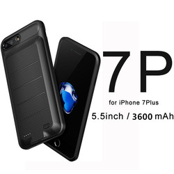 Baseus Battery Charger Case For iPhone 6 6s 7 7Plus case battery 3650mAh Backup Power Bank For IPhone Portable charging Case