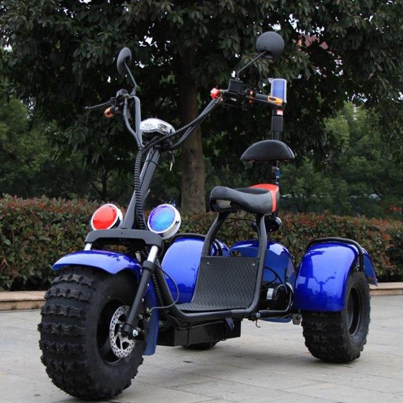 Электрический мотоцикл 60 В в Максимальная мощность 1000 Вт автомобиля интимные аксессуары Кемпинг город Коко citycoco литиевых батарея Multi цвет