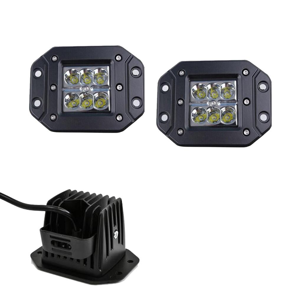 Online Get Cheap Flush Mount Led Lights for Trucks Aliexpresscom