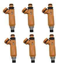 Inyector de combustible para Mitsubishi Montero Sport 195500 ~ 3300 Montero 1999 ~ 2004 3,5l V6, MD337900, 6 unidades por lote