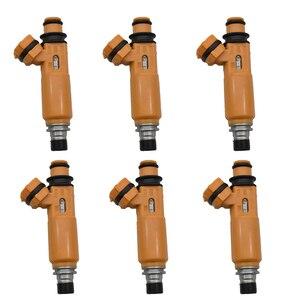 Image 1 - Inyector de combustible para Mitsubishi Montero Sport 195500 ~ 3300 Montero 1999 ~ 2004 3,5l V6, MD337900, 6 unidades por lote
