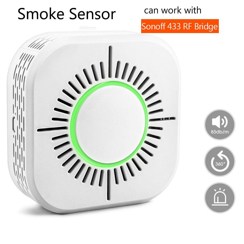 RF433 Smoke Detector,Wireless Smoke…