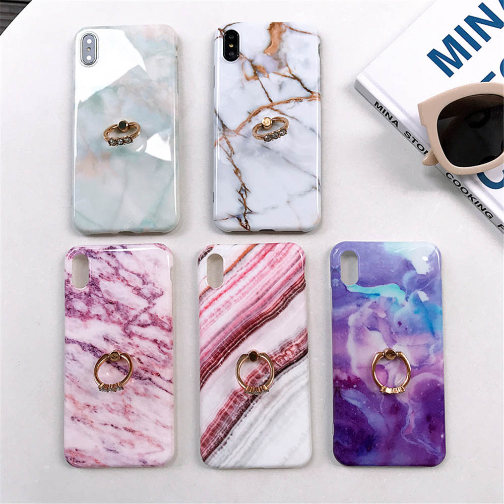 Marble Ring Stand For Iphonex Case Apple 66S 78 8P X Xs Xr Xsmax