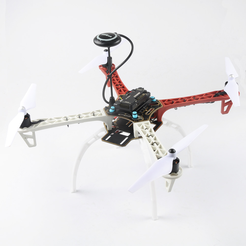 450mm F450 FPV Quadcopter Drone BNF Kit with M8N GPS APM 2.8 Flight Controller 2212 940KV Brushless Motor