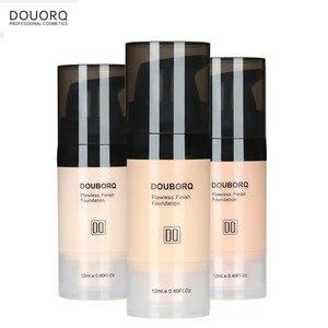Image 5 - Base de maquiagem facial, líquido de acabamento fosco, maquiagem, corretivo, à prova dágua, cosmético natural