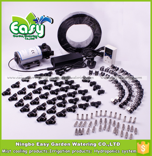 (Water From Tank)40 Mist Nozzle+150 Psi Diaphragm Pump.Fog System