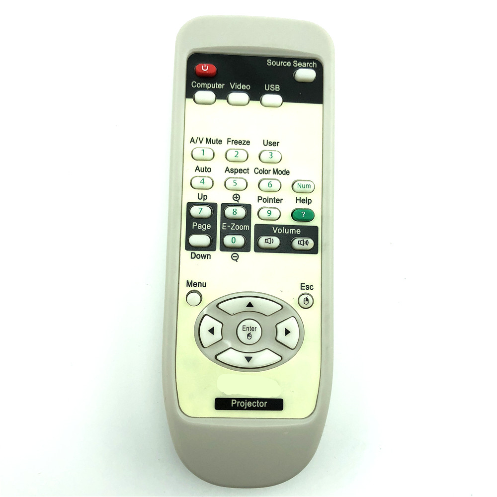 remote control suitable for epson projector EMP-X5 EB-S6 EB-X6 EB-W6 EB-S7 EB-X7 EB-S8 EB-X8 EMP-30 EMP-50 EMP-53 54 61 62 X68