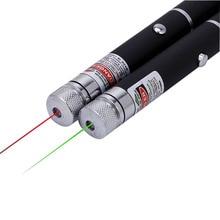 Outdoor Tools Laser Pointer Pen Green Red Lazer Beam Light 5mw Military High Power Burning Presenter Flashlight for Camping