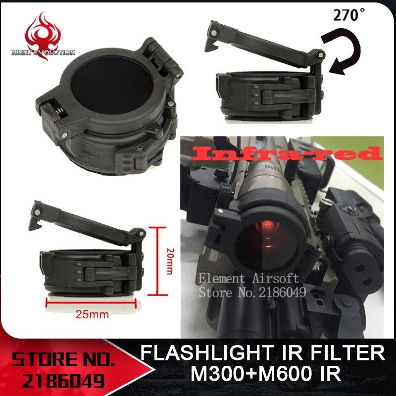 M600 AIRSOFT BUNDLE LED FLASHLIGHT IR FILTER BB PROTECTOR PICATINNY UK SELLER