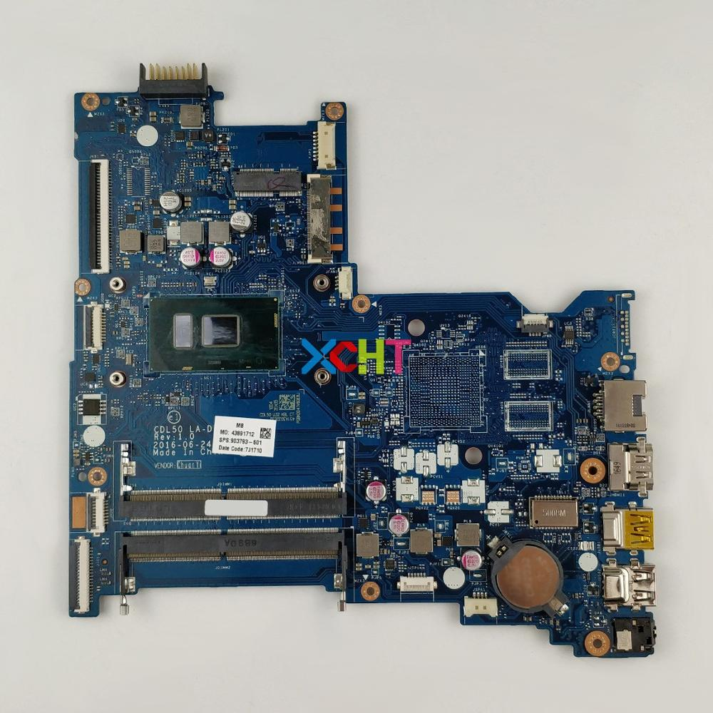 for HP Notebook 15-ay Series 15T-AY100 903793-601 903793-501 w i5-7200U CPU BDL50 LA-D707P NoteBook PC Motherboard Mainboardfor HP Notebook 15-ay Series 15T-AY100 903793-601 903793-501 w i5-7200U CPU BDL50 LA-D707P NoteBook PC Motherboard Mainboard