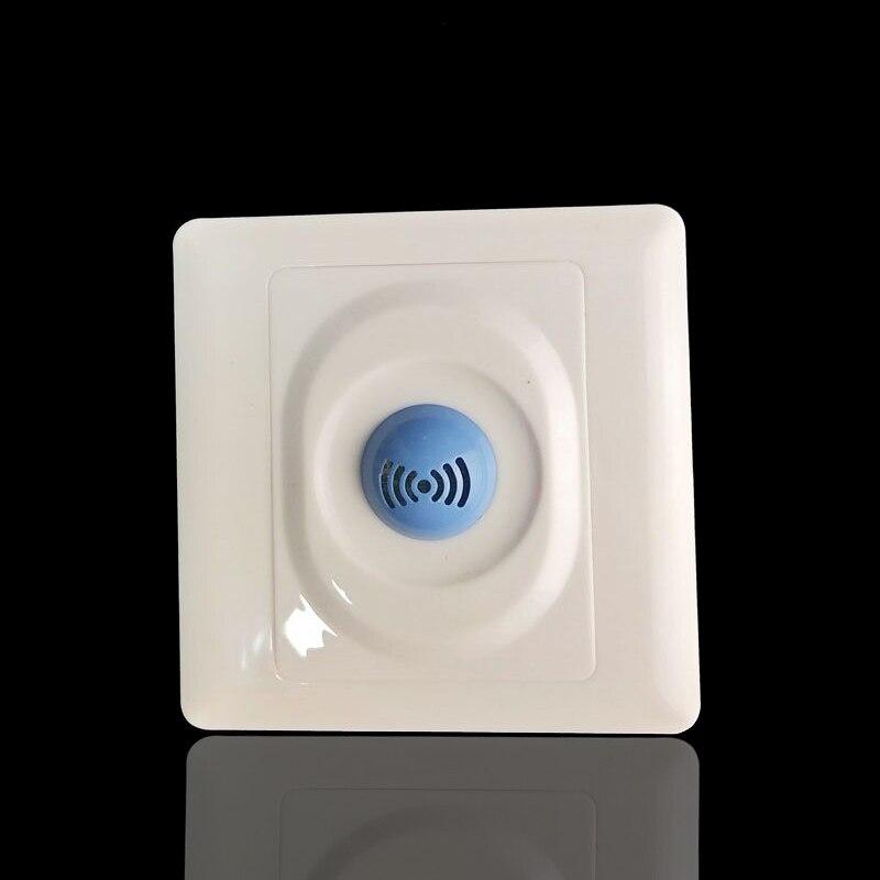 Gorąca sprzedaż 220 ~ 240v 360 stopni mikrofalowe światło na czujnik indukcyjny mikrofalowy czujnik ruchu 86*86 przełącznik czujnika ruchu darmo