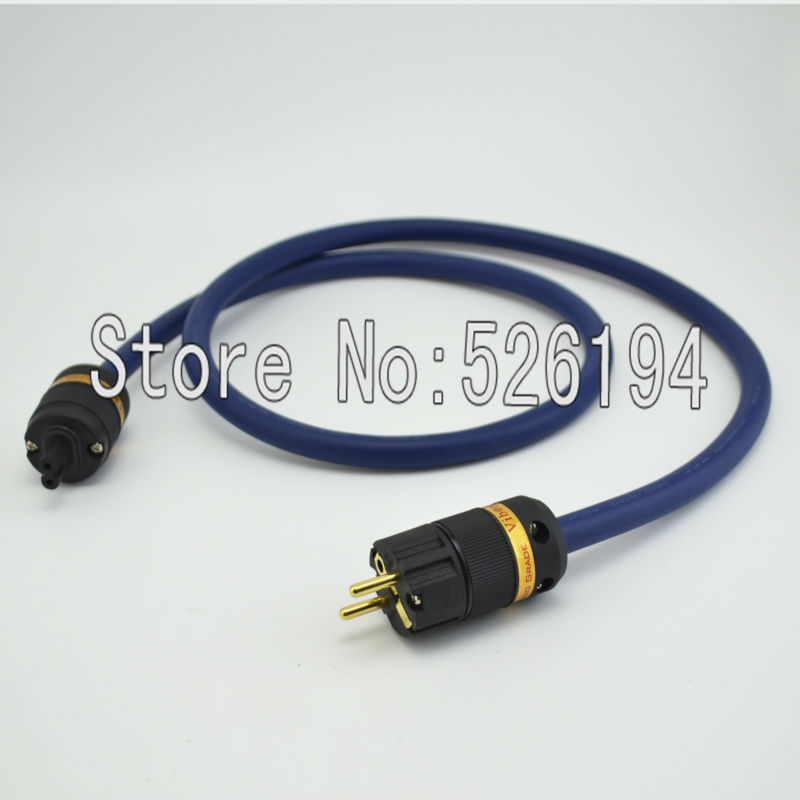 Free shipping moonsaudaio 1.5m Furutech FP-3TS20 Main power cable with Gold plated EU version /figure 8 power plug connectors freee shipping one pcs furutech fi 03 g fi 03 r iec input connectors