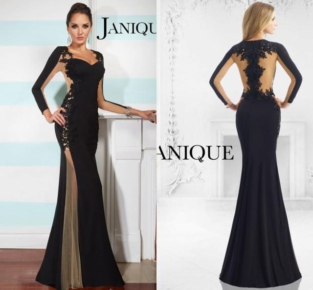 Elegant Long Sleeve Mermaid Plus Size 2015 Mother of the Bride ...