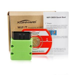 Image 5 - ELM327 Wifi 自動車スキャナー KONNWEI KW902 elm 327 OBD 2 自動診断スキャナ Ios/アンドロイド/Pc EML327 ODB2 OBD2 スキャナ