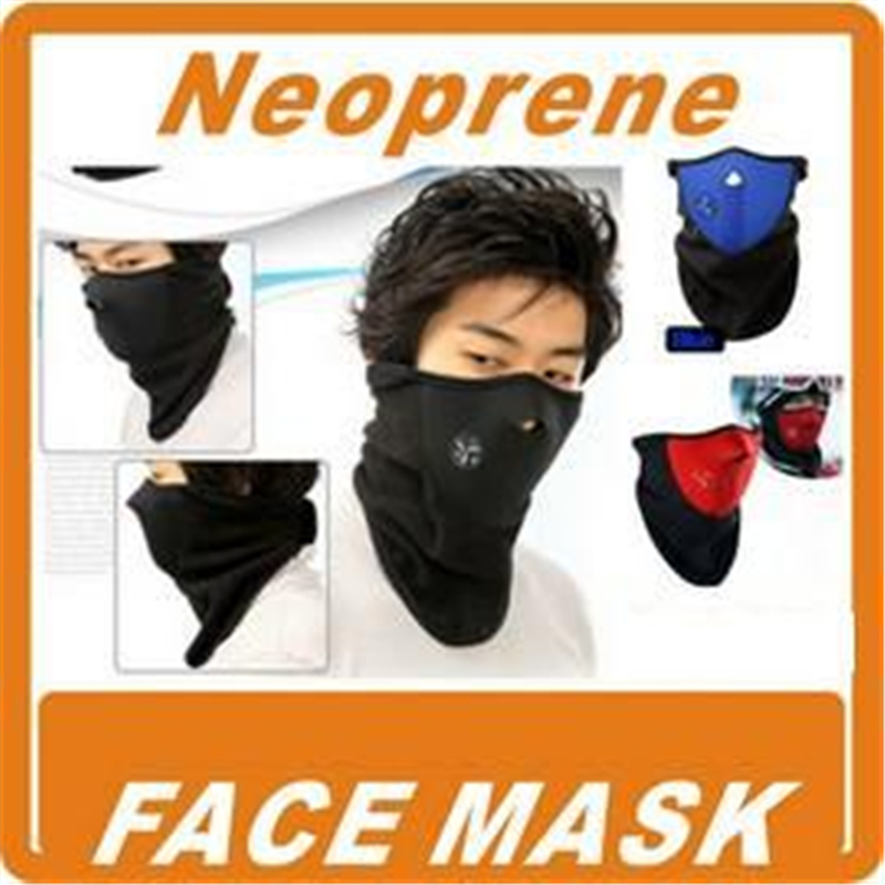 New Cheap Neoprene Neck Warm Half Face Mask Sport Bike Riding masks Bicycle Motorcycle Skiing mask Windproof cycling equipment