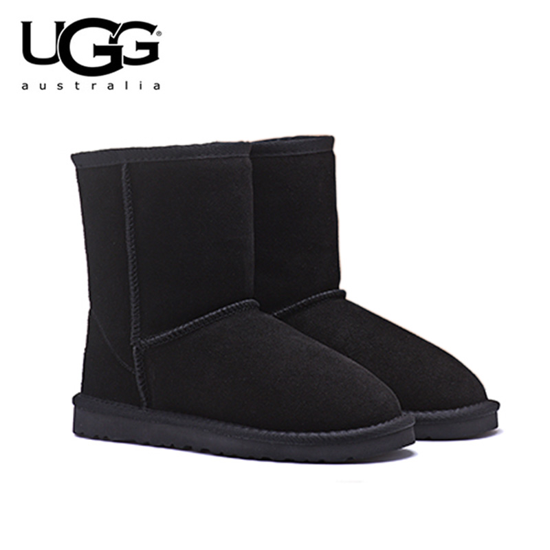 2019 nouveauté originale bottes UGG 5825 femmes chaussures de neige uggs bottes d'hiver Sexy bottes de neige en peau de mouton courtes classiques pour femmes
