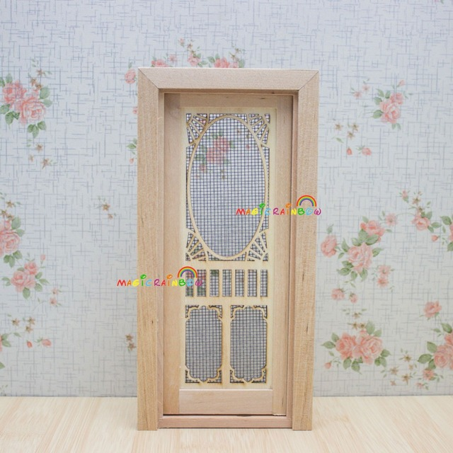 Dollhouse Miniatures 1 12 Room Furniture Accessories Wood Screen