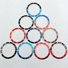 1 шт. 39,5 мм алюминиевый материал для часов с ободком, вставка 41 мм, часы Corgeut