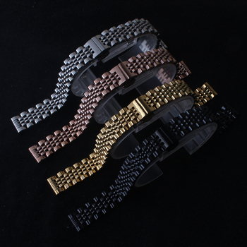 Stainless Steel Metal Watchband Bracelet 12mm 14mm 16mm 18mm 19mm 20mm 21mm 22mm Watch Band Wrist Strap Black Silver Rose Gold цена 2017