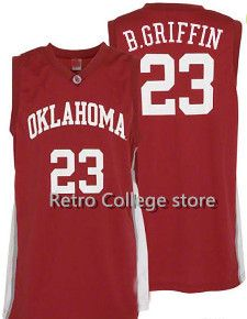bde2a54f7e9 Mens #23 Oklahoma Sooners Blake Griffin College Basketball Jerseys Red  Retro Stitched Sports Jersey Shirt Custom any Number ,Nam