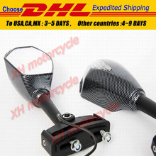 motorcycle partsMotor LED Turn Signal Integrated Mirrors for  FZR600 FZ1 FZR CARBON CLEAR