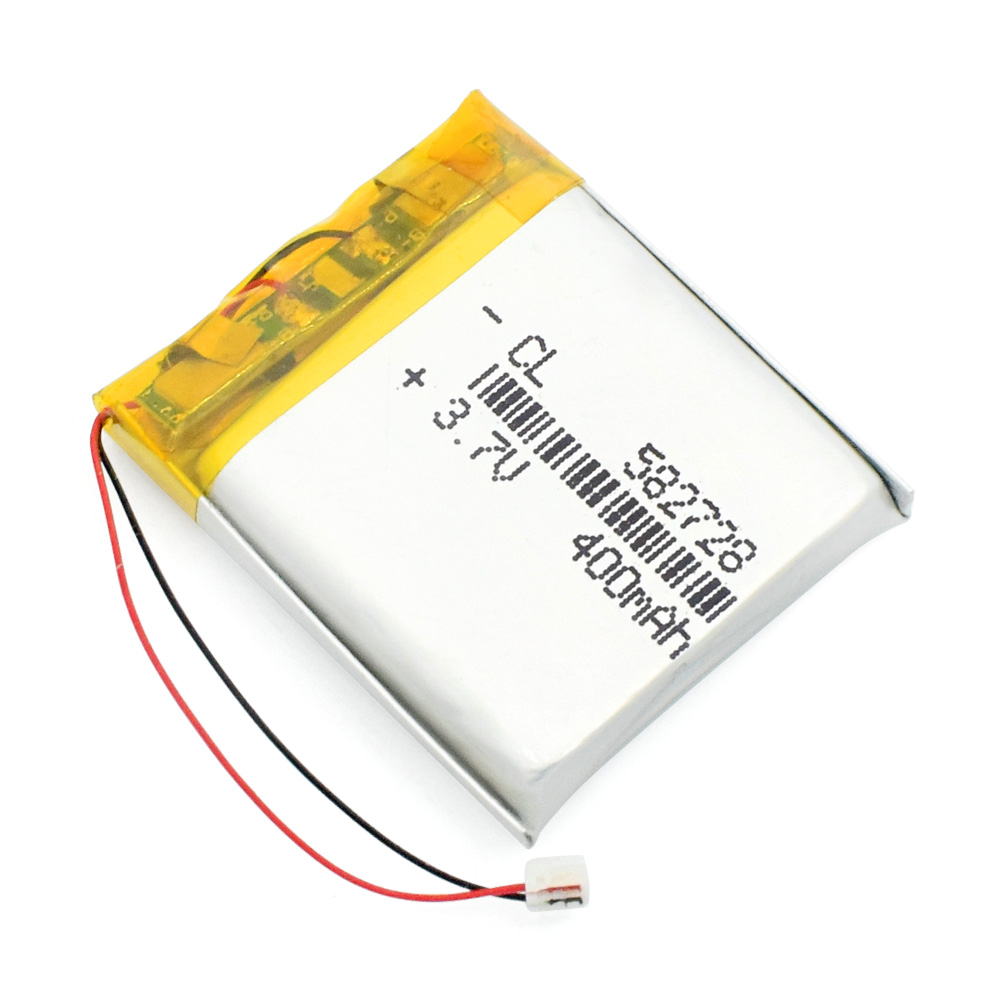 582728 <font><b>3.7V</b></font> <font><b>400mAh</b></font> Rechargeable li-Polymer Li-ion Battery For Q50 G700S K92 G36 Y3 Children's smart watch mp3 Bluetooth Headset image