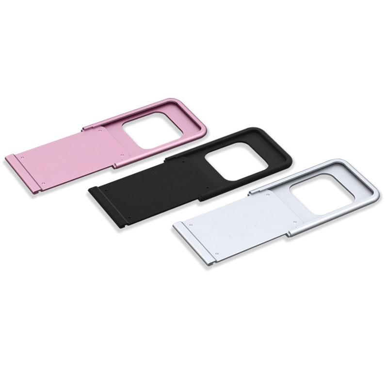Aluminum alloy WebCam Cover Shutter Magnet Slider Camera Cover For iPad Smartphone Tablet