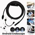 5.5 мм 1 м 2 м 5 м Эндоскопа Камеры Android Для ПК OTG Телефон Ip67 Водонепроницаемый Змея Инспекции Бороскоп трубки Мини Андроид Эндоскоп