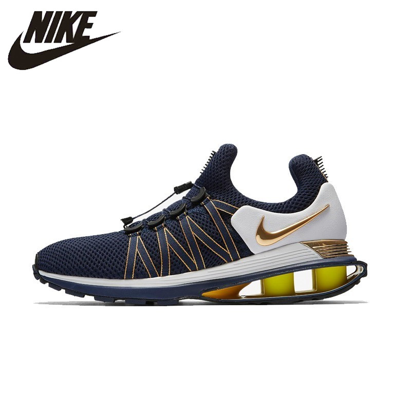 huge discount 8dfd2 7d605 NIKE SHOX GRAVITY Original New Arrival Running Shoes Breathable Comfortable  For Men and Women Sneakers