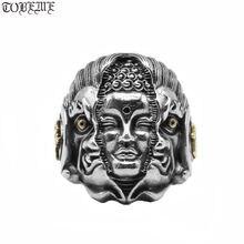 Мужское кольцо из тайского серебра 925 пробы Будды стерлингового