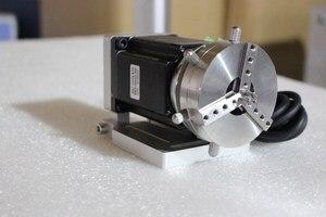 Image 3 - Máquina de grabado láser de fibra, máquina rotativa de marcado láser, eje rotativo, accesorios para máquina de grabado