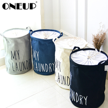 ONEUP Home Large Laundry Basket Collapsible Child Toy Storage Laundry Bag Dirty Clothes Hamper Organizer Bathroom Laundry Bucket
