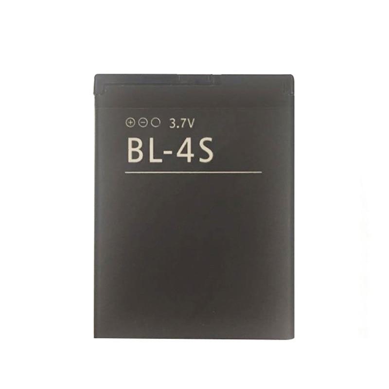 860 mah BL-4S/BL 4S batterie Haute Capacité Batterie pour Nokia 2680 s/3600 s/7610 s/6208c/X3-02/7100 s/7020 etc Téléphones Mobiles