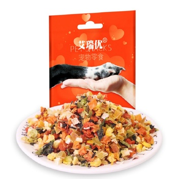 Dog Snacks Freeze-dried vegetables 1