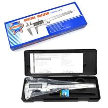 Best price 0-150mm/6″ Digital CALIPER VERNIER Electronic Micrometer Metal casing GAUGE Measuring