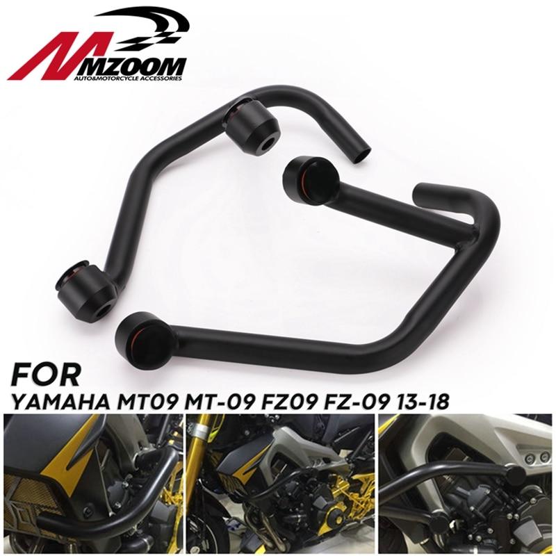 Engine Bumper Guard Crash Bars Frame Protector for Yamaha MT07 13-18 FZ-07 15-18
