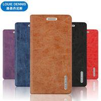 LOUIE DENNIS Luxury PU Leather Flip Phone Case For Xiaomi Mi Note 3 Mi Note3 Card