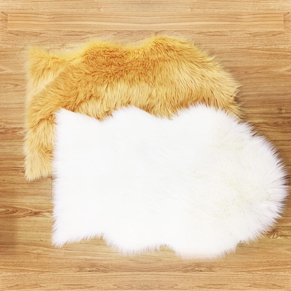 IDouillet High Quality Soft Plush Faux Fur Sheepskin Area