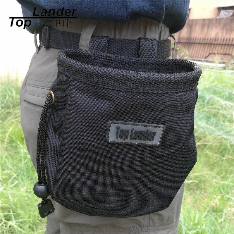 Rock Climbing Chalk Bag Anti-skid Black Lifting Bouldering Magnesium Powder Storage Anti-slip Chalk Bags Magnesium Bag