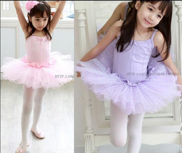 Ballet Dress For Children Girl Dance Clothing Kids Ballet Costumes For Girls Pink Dance Leotard Girl Dancewear