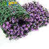 ULAND Artificial Boxwood Hedge Plastic Purple Plants Leaves Panels Fence Mat Garden Wedding Decoration Privacy Screen